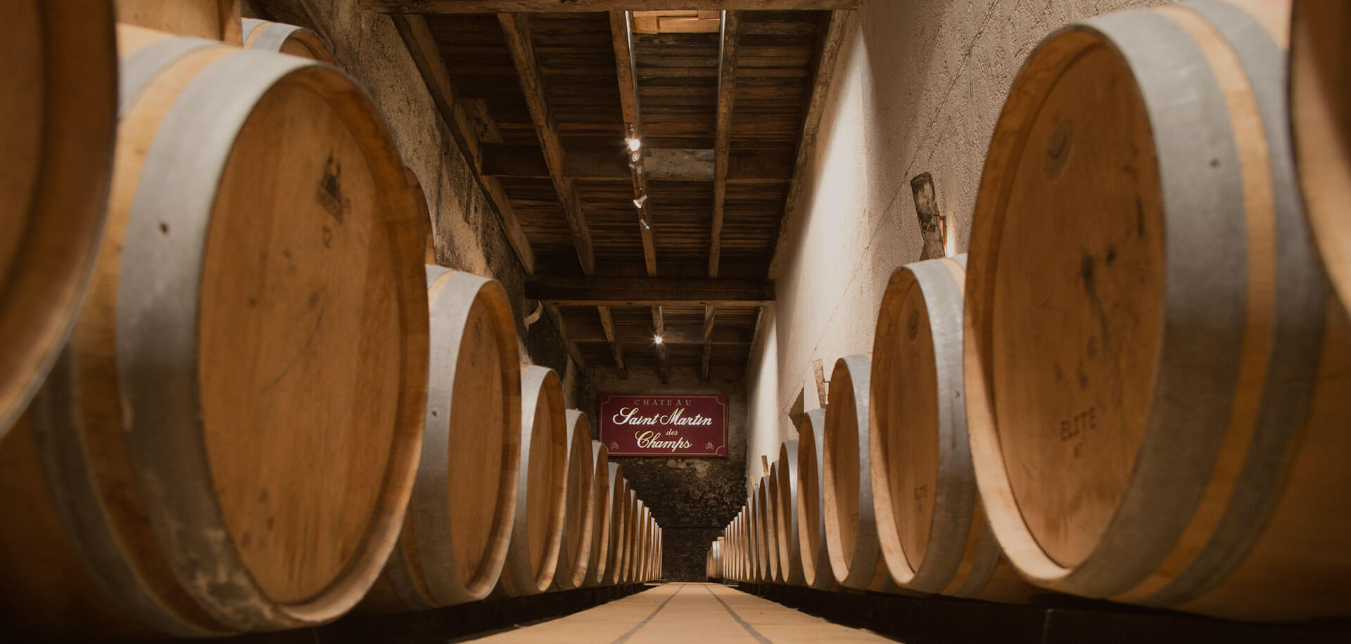 AOP Saint Chinian vinification cellar